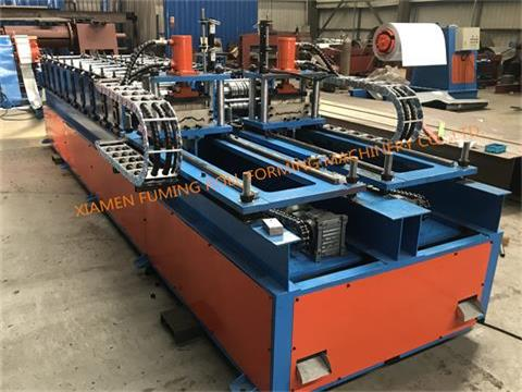 Double sides Machine For Fencing Profiles