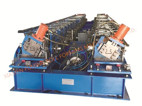 Double Sides Shelving Profile Machine