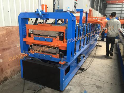 YX75-200-850 Double Levels Roll Forming Machine