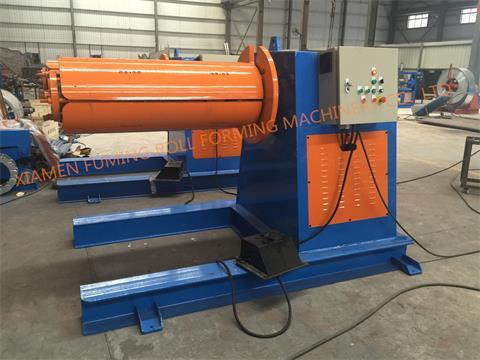 5T*1250 Hydraulic un-coiler