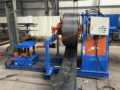 8T*1250 Hydraulic un-coiler