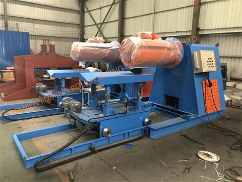 10T*1250 Hydraulic un-coiler with top arm and car