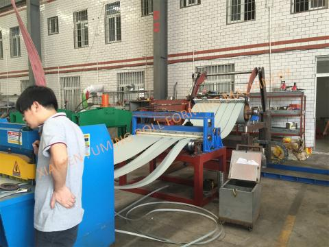 Pre-leveling,Slitting, Cutting and Recoiling Line Type 2