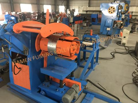 Pre-leveling,Punching and Recoiling Line Type 3