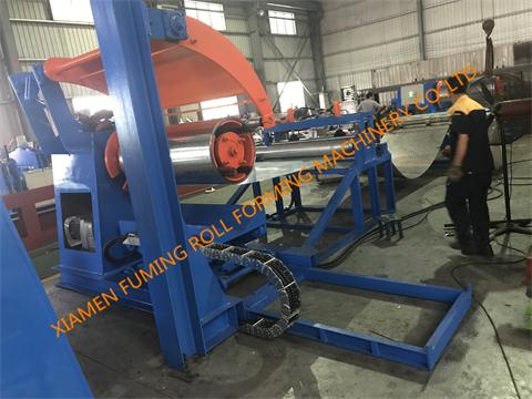 Pre-leveling,Slitting, Cutting and Recoiling Line Type 4