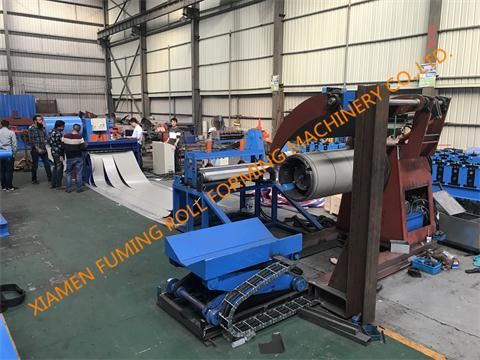 Pre-leveling,Slitting, Cutting and Recoiling Line Type 5